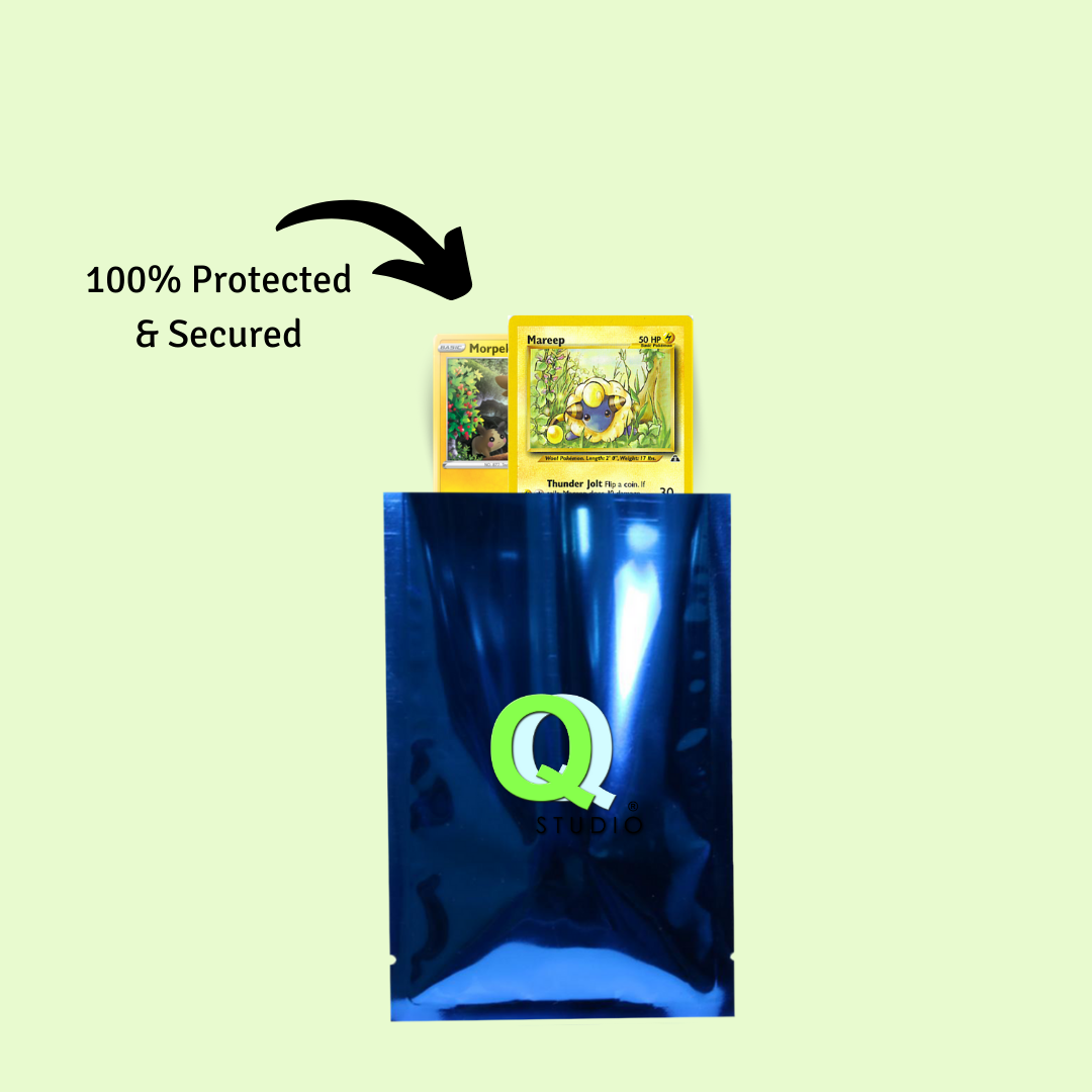 How to Store Trading Cards: QQ Studio Packaging