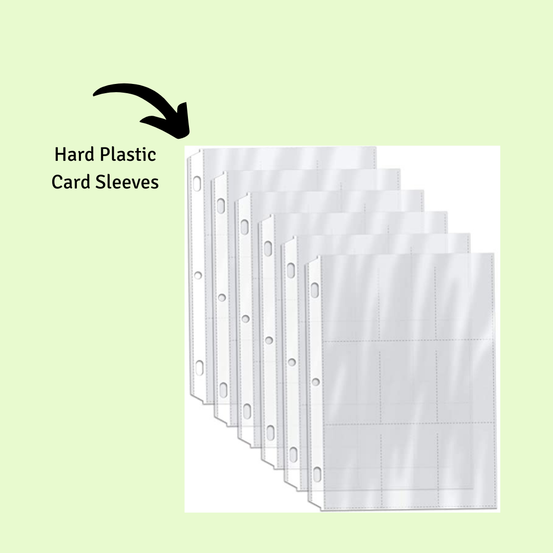 How to Store Trading Cards: Second Layer