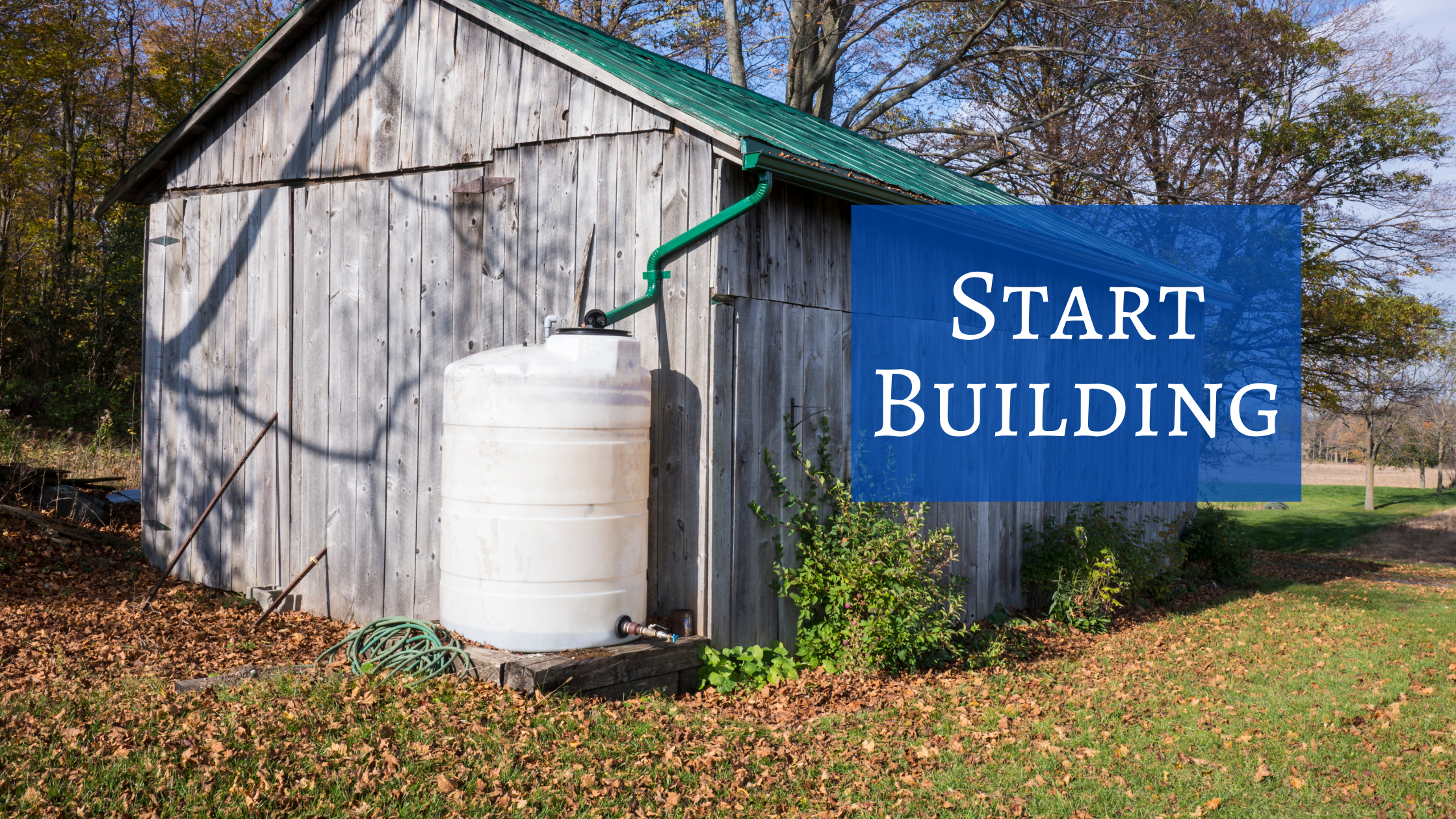 Collecting and Storing Rainwater: Building and Equipment