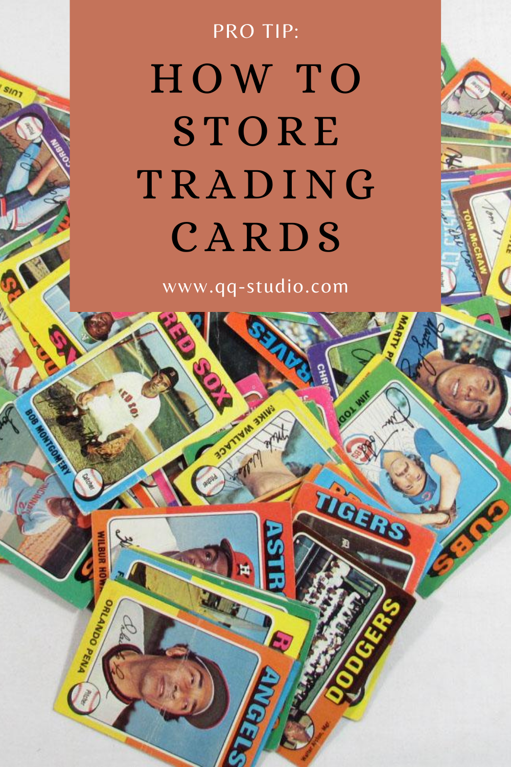 How to Store Trading Cards