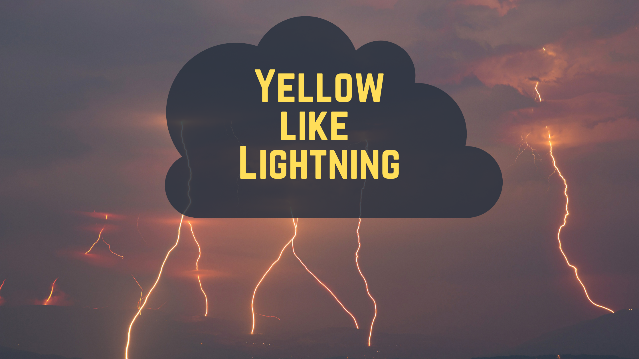 The Best Shades of Yellow to Use for Packaging: Yellow Like Lightning