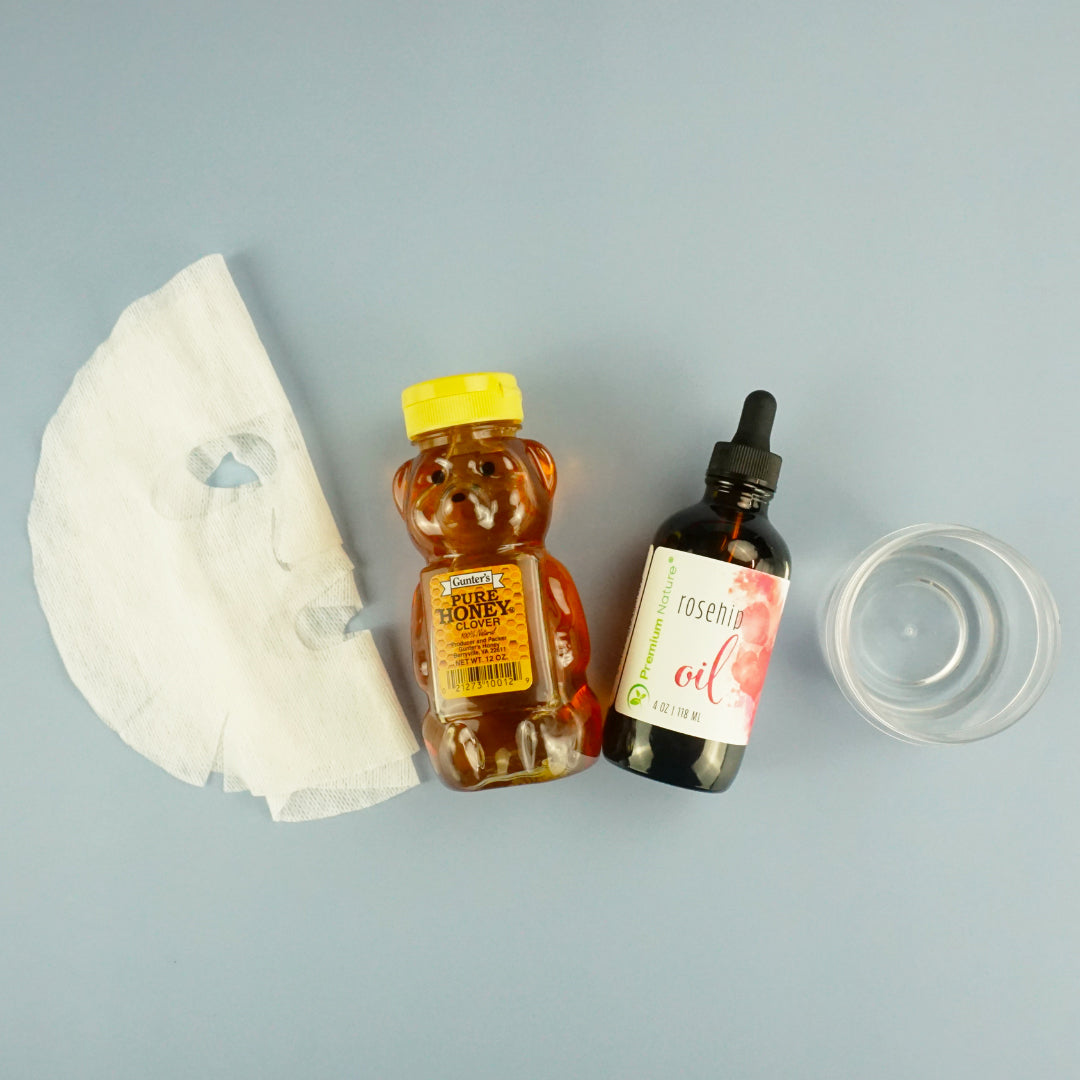 How to Make Your Own Hydrating Anti-Age Sheet Mask: All Ingredients