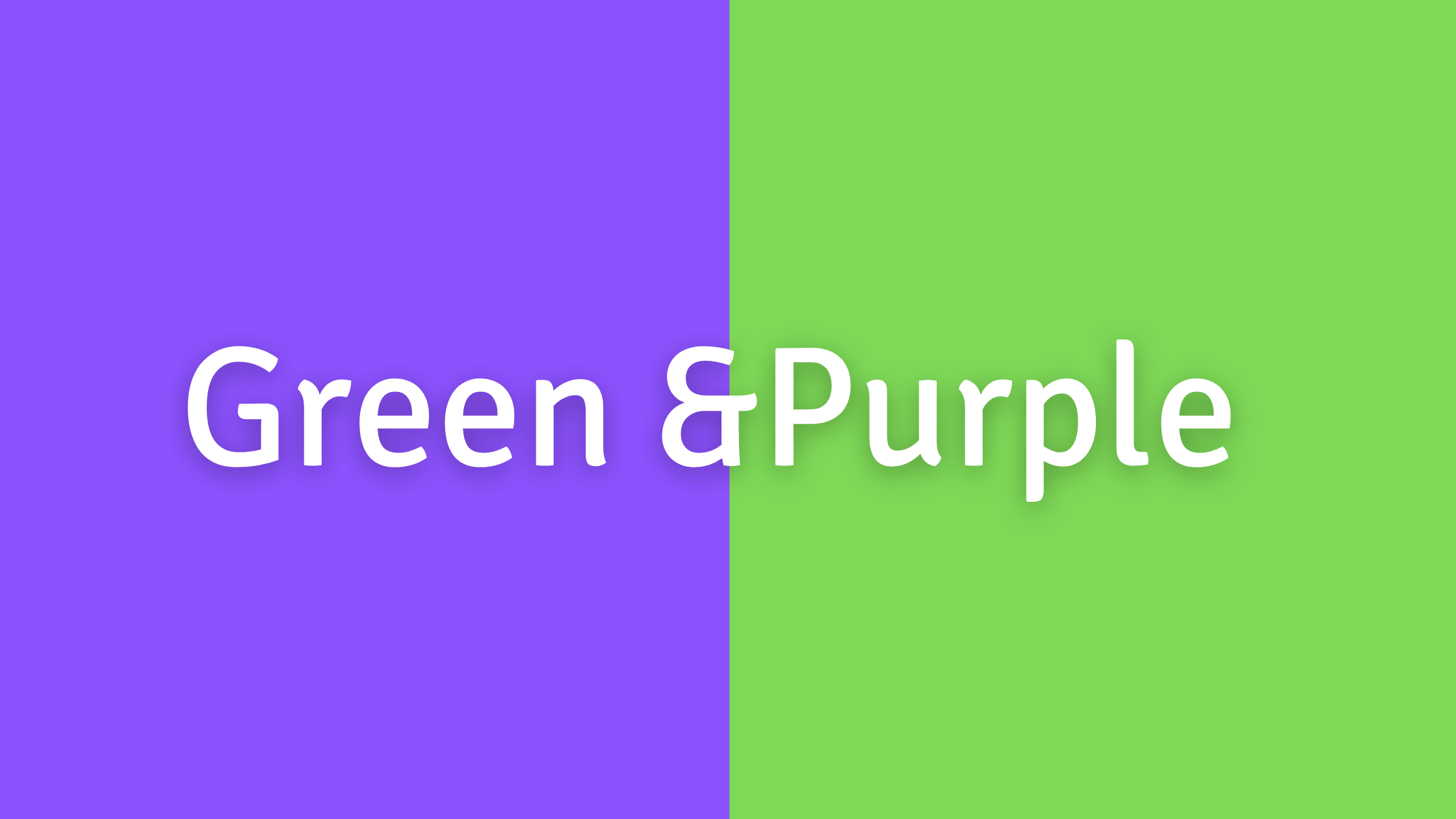 Green, Yellow, and Orange Color Combos to Avoid: Green and Purple