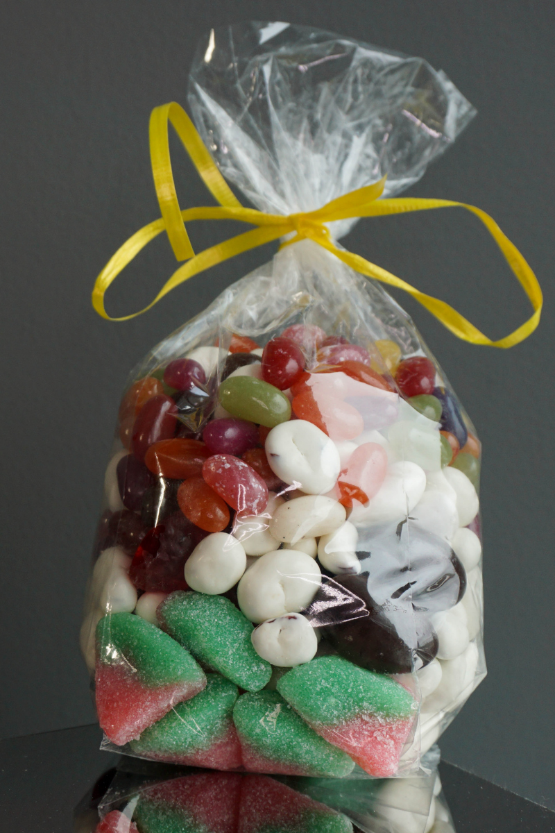 Why Clear Bags are Great for Storing Halloween Treats: Candy in Clear Packaging