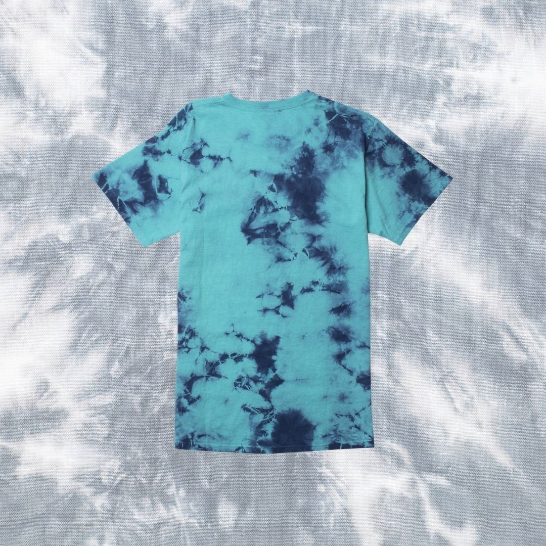 Fun Crumple Tie-Dye Design T-shirt