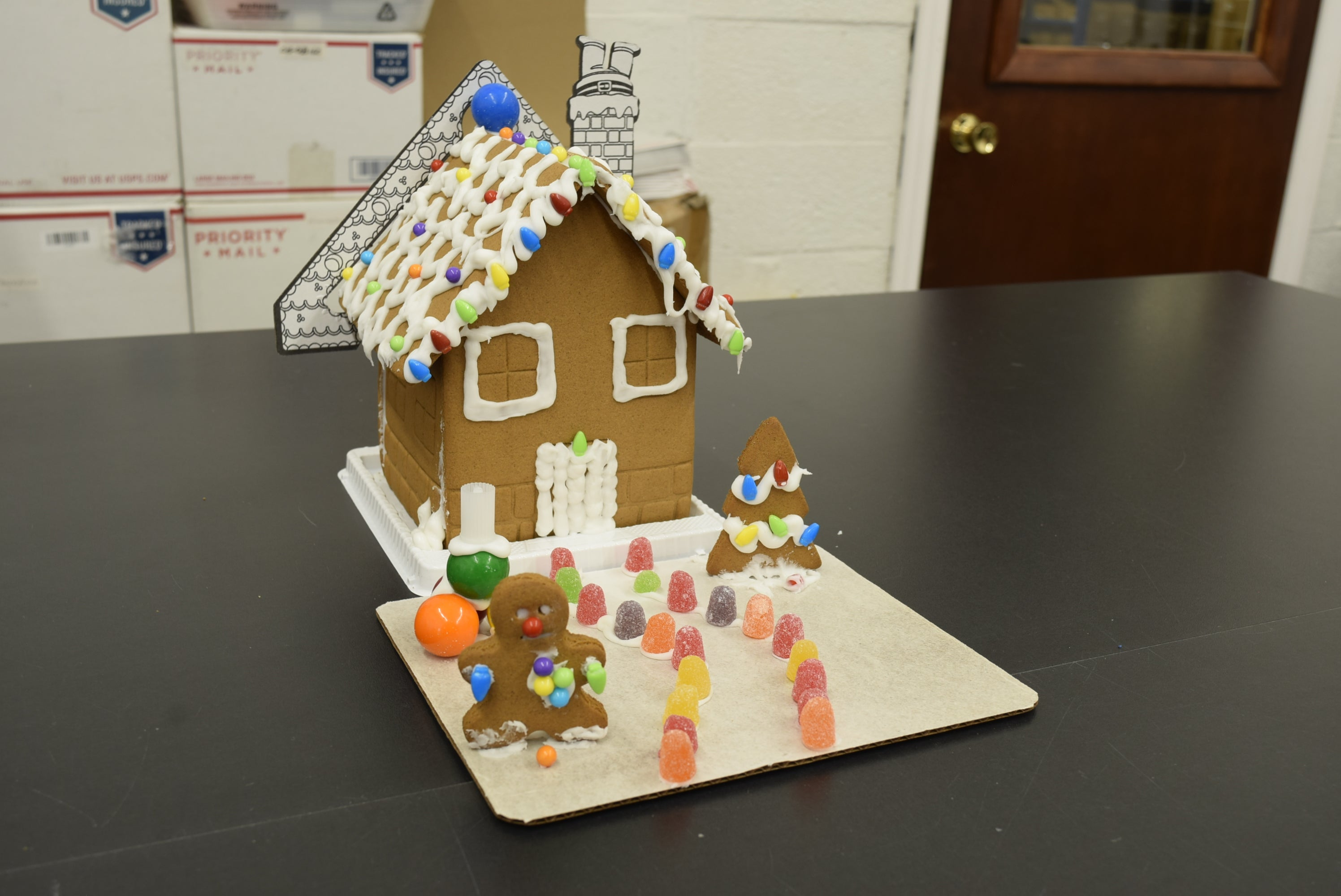 Top 5 Work Event Ideas: Gingerbread House