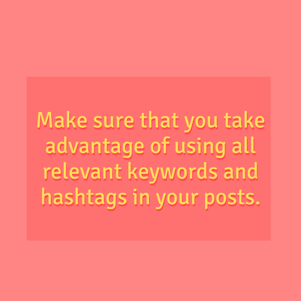 Best Way to Keep Your Food Business Relevant: Take Advantage of Keywords and Hashtags
