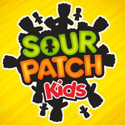 The Best Shades of Yellow to Use for Packaging: Sour Patch Kids Logo