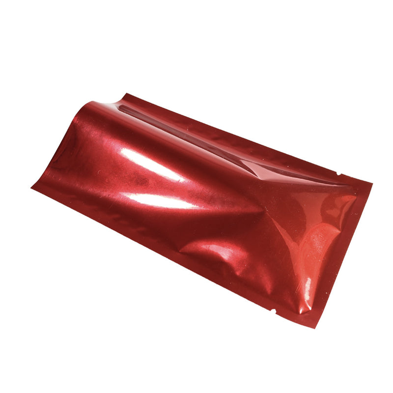 QQ Studio® Glossy Red Ribbon Mylar Foil Open Fill Bags