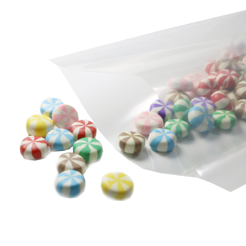 QQ Studio® Clear Glass Plastic Vacuum Seal Open Fill Bags