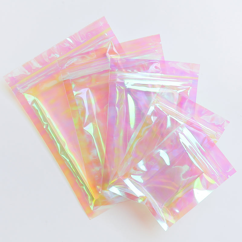 QQ Studio® Kaleidoscope Holographic Clear QuickQlick™ Bags