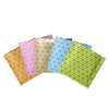 QQ Studio® Colorful Prism Design Aluminum Foil Open Top Bags
