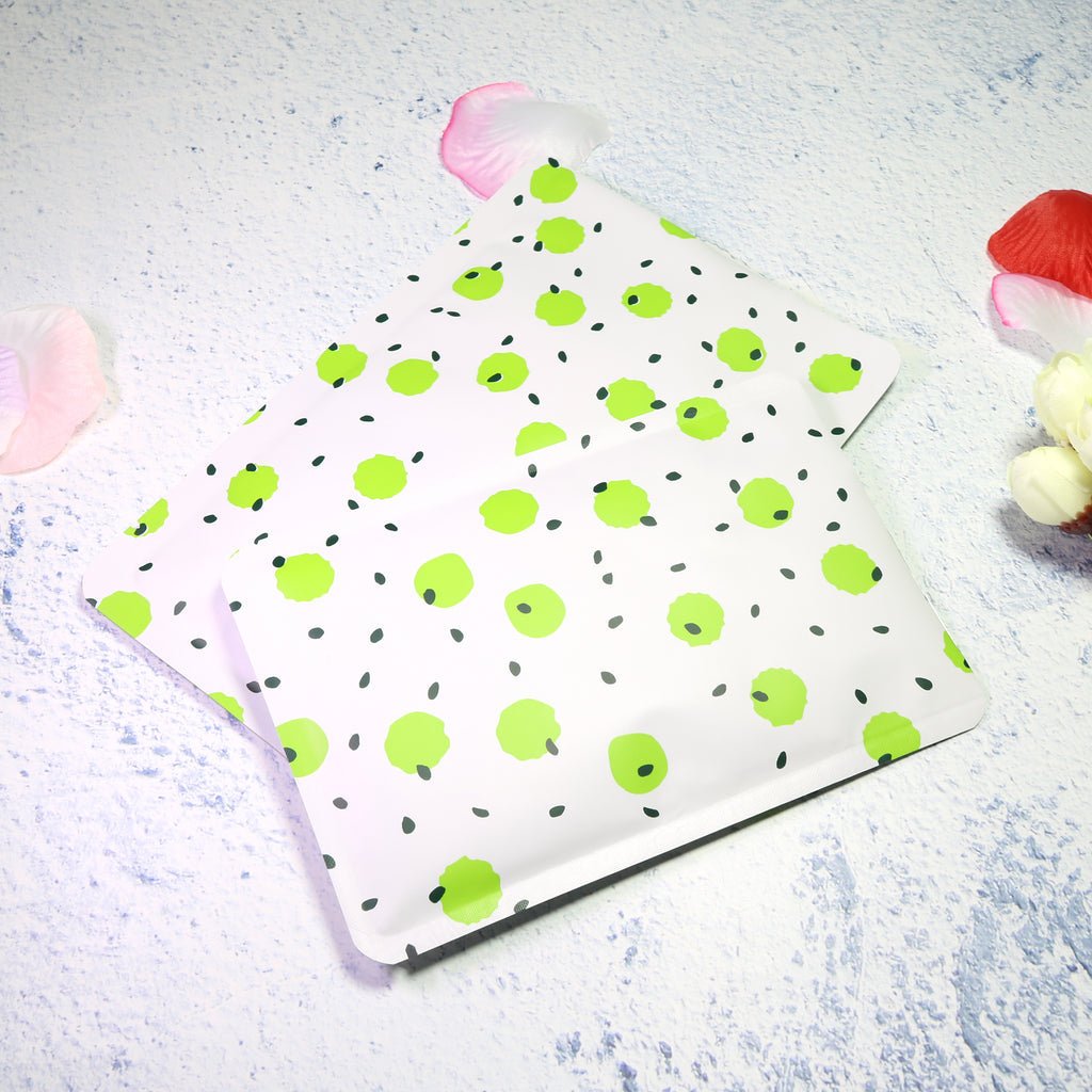 QQ Studio® Colorful Polka Dot Aluminum Open Top Bags