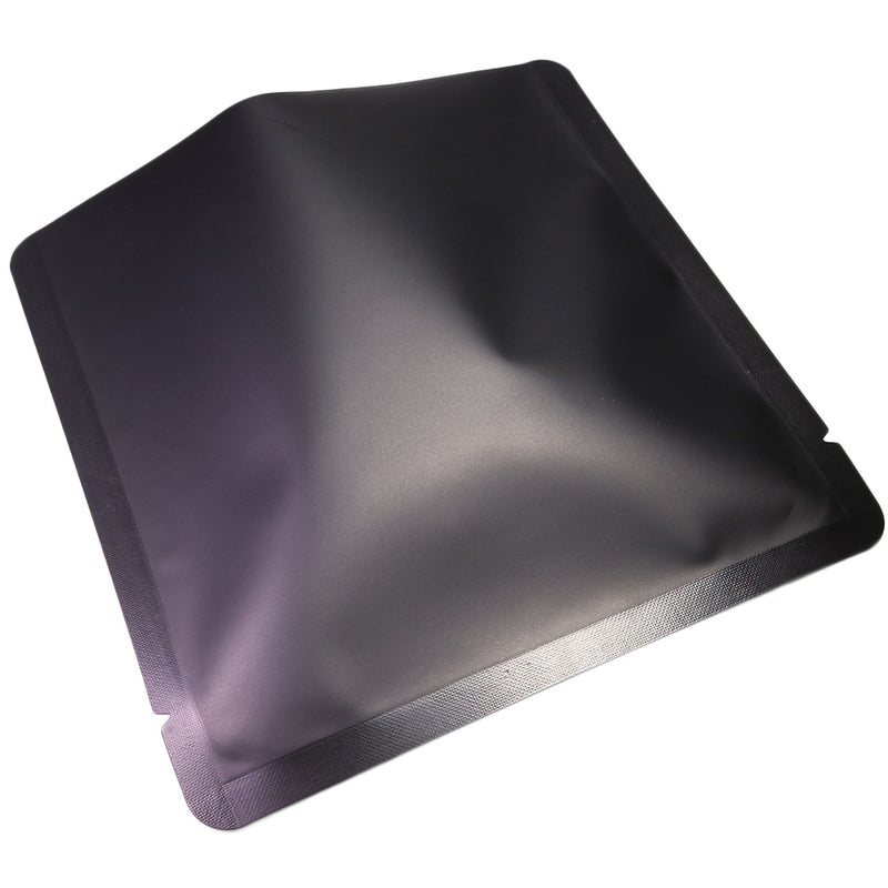 QQ Studio® Matte Aluminum Open Fill Square Bag