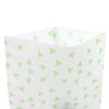 QQ Studio® Printed Diamond Design Rice Paper Open Top Bags