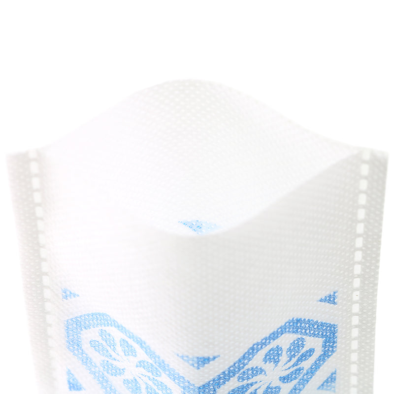 QQ Studio® Geometric Design Non-Woven Open Top Bags