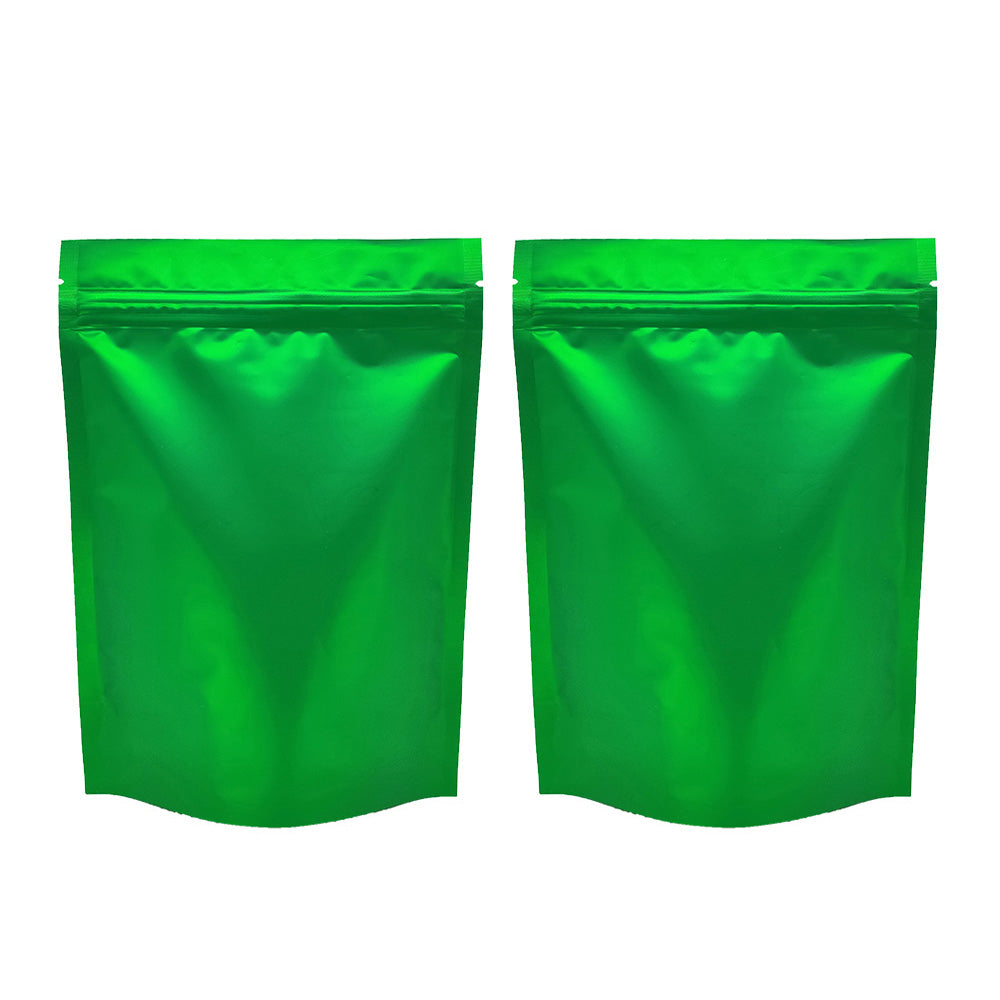 QQ Studio® Matte Sea Green Mylar Stand Strong™ Bags