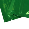 Glossy Double Sided Metallic Mylar Flat Zipper Lock Bags (Single Sided Print)