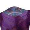 QQ Studio® Glossy Grape Purple Metallic Mylar Flat QuickQlick™ Bags