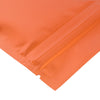 QQ Studio® Glossy Sunset Orange Metallic Mylar Flat QuickQlick™ Bags
