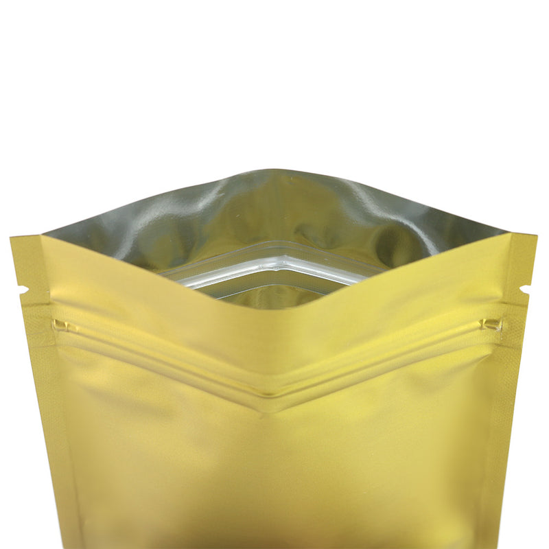 QQ Studio® Chardonnay Gold Metallized Mylar Foil QuickQlick™ Bags