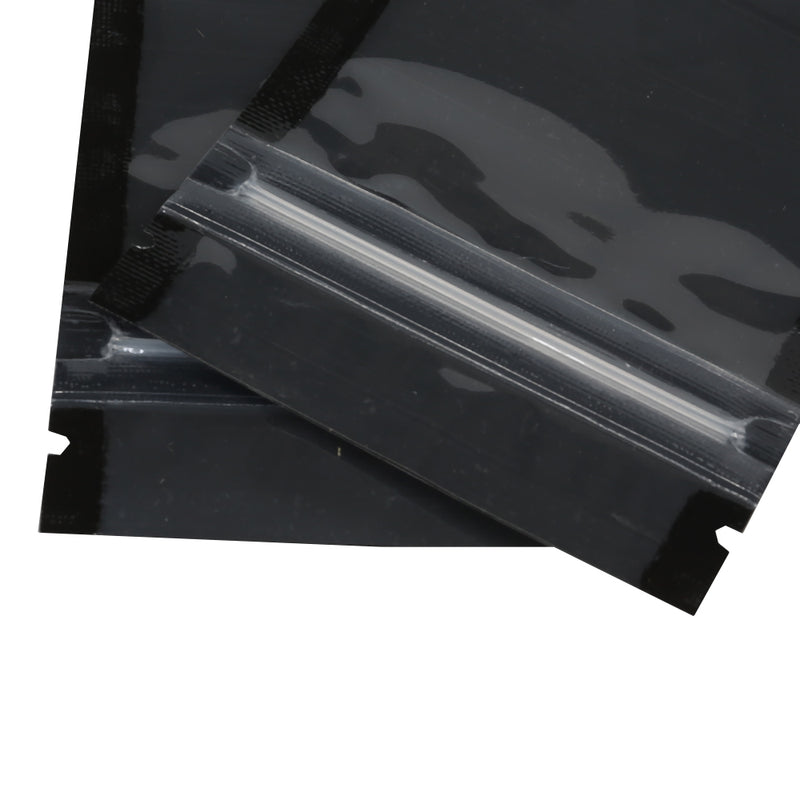 QQ Studio® Half Mirror Black Window Display Polyethylene QuickQlick™ Bags