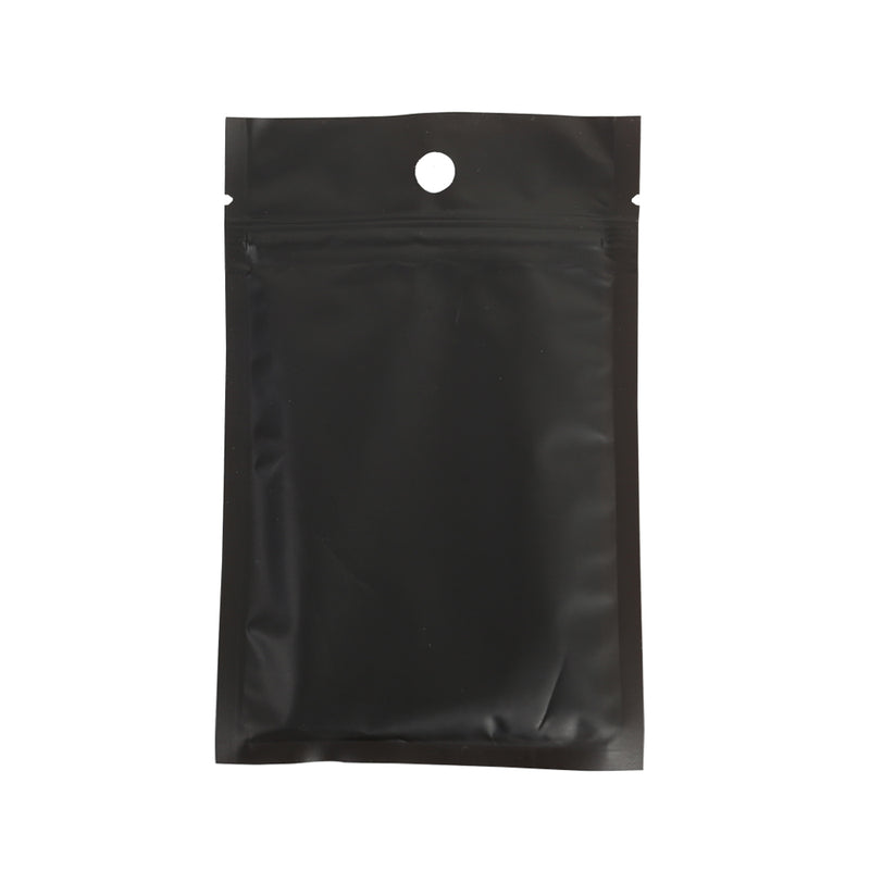 QQ Studio® Half Dawn Black Flat Plastic QuickQlick™ Bags with Hang Hole