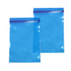 QQ Studio® Glossy Clear Water Blue Soft Plastic Storage QuickQlick™ Bags