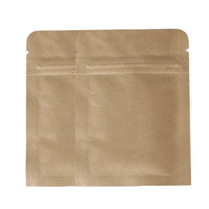 QQ Studio® Vintage Brown Double Sided Kraft Flat QuickQlick™ Bags