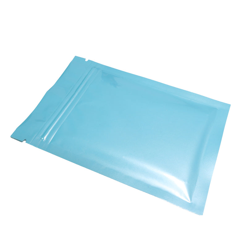 QQ Studio® Glossy Baby Blue Mylar QuickQlick™ Bags