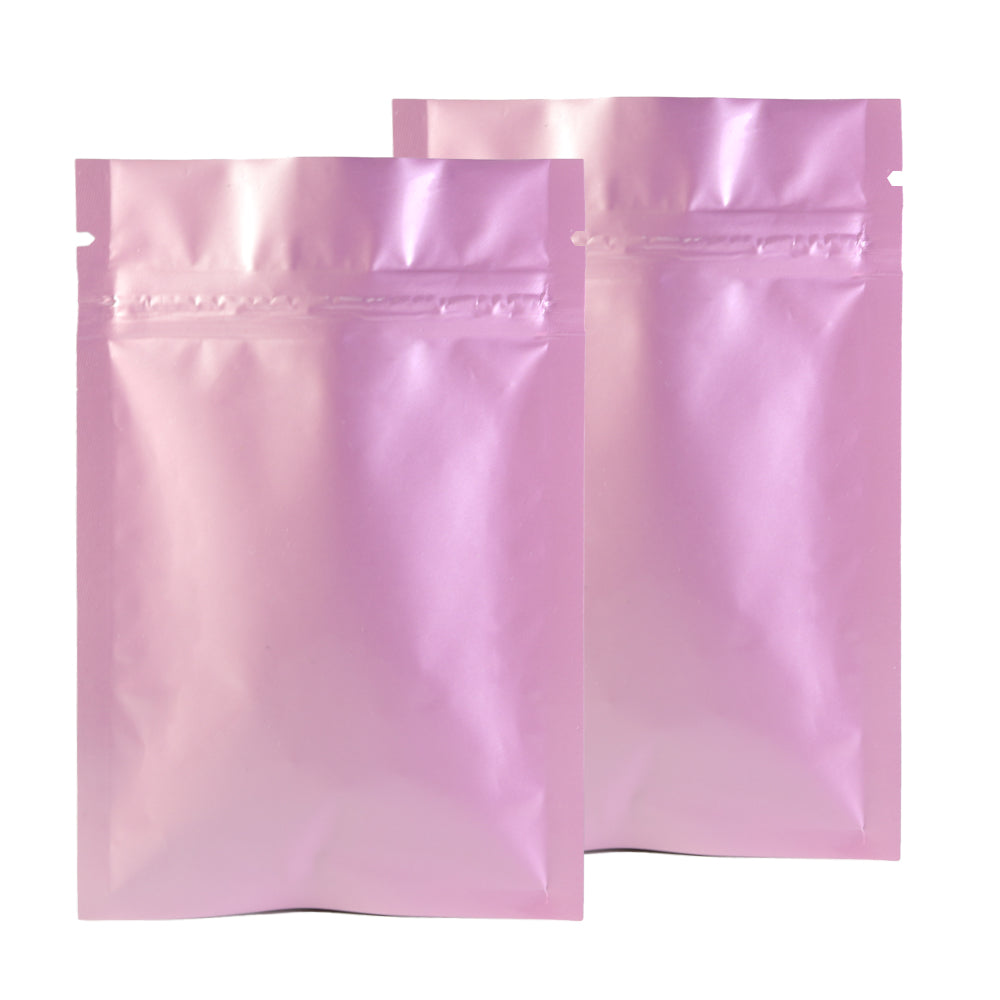 QQ Studio® Glossy Precious Pink Mylar QuickQlick™ Bags