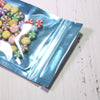 QQ Studio® Half Faded Blue Stripe Design Mylar Foil Flat QuickQlick™ Bags