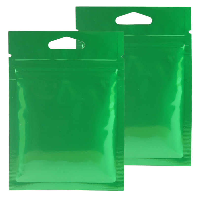 QQ Studio® Glossy Double-Sided Mylar Foil QuickQlick™ Bags with Triangle Hang Hole