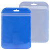 QQ Studio® Glossy Colorful Rounded Corners Transparent Poly Plastic QuickQlick™ Bags with Butterfly Hang Hole