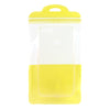 QQ Studio® Glossy Sunlight Yellow QuickQlick™ Bags with Semi Circular Hang Hole