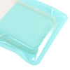 QQ Studio® Glossy Teal Green QuickQlick™ Bags with Semi Circular Hang Hole