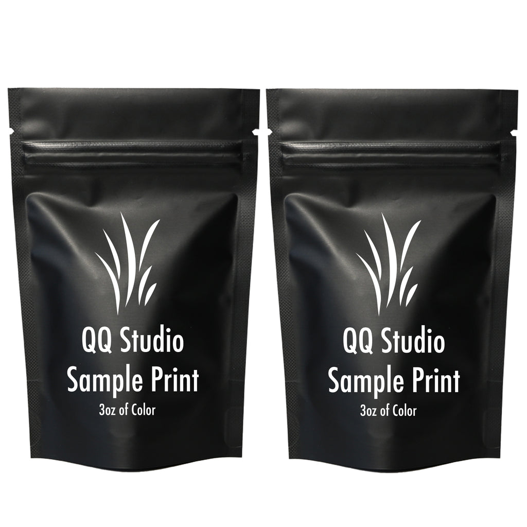 QQ Studio® Double-Sided Matte Mylar Stand Strong™ Bags (Double Side Print)