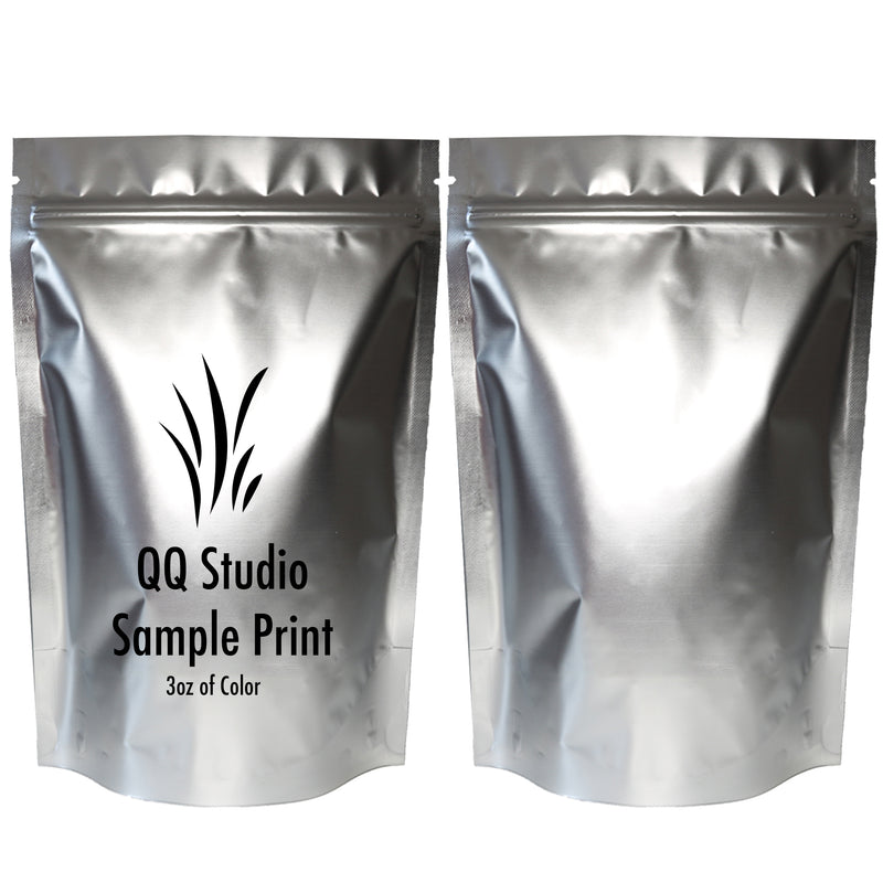 QQ Studio® Double-Sided Matte Mylar Stand Strong™ Bags (Single Side Print)