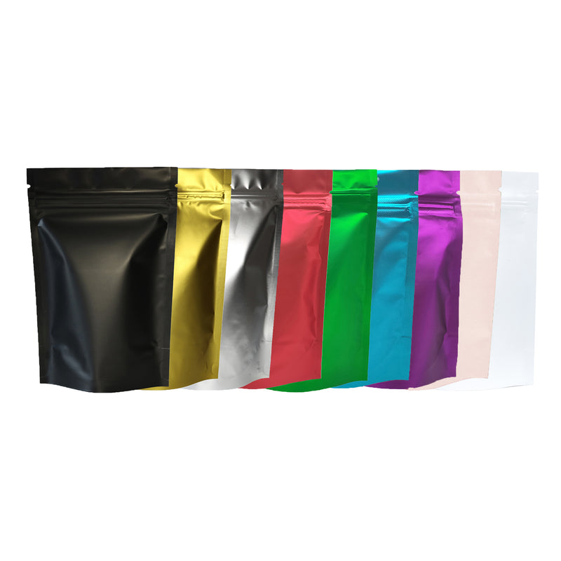 QQ Studio® Double-Sided Matte Mylar Stand Strong™ Bags