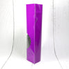 QQ Studio® Glossy Hazy Purple Round Window Plastic and Mylar Stand Strong™ Bags
