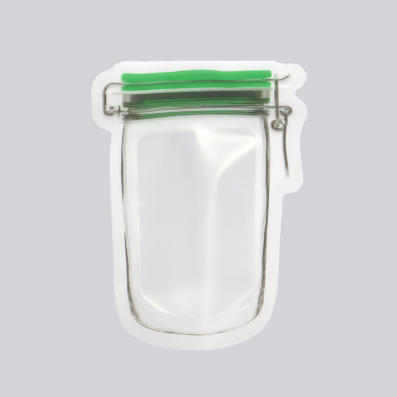 QQ Studio® Colored Border Canister Shaped Plastic Stand Strong™ Bags