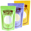 QQ Studio® Glossy Printed Bottle Design Stand QuickQlick™ Bags