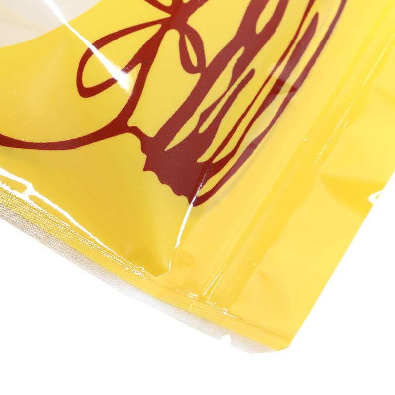 QQ Studio® Glossy Honey Yellow Bottle Design Stand QuickQlick™ Bags
