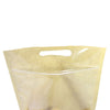 QQ Studio® Clear Half Krafty Brown Stand QuickQlick™ Bags with Die Cut Handles