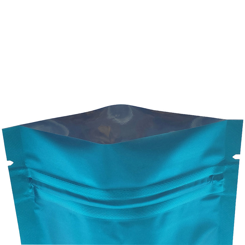QQ Studio® Matte Cool Blue Mylar Stand Strong™ Bags