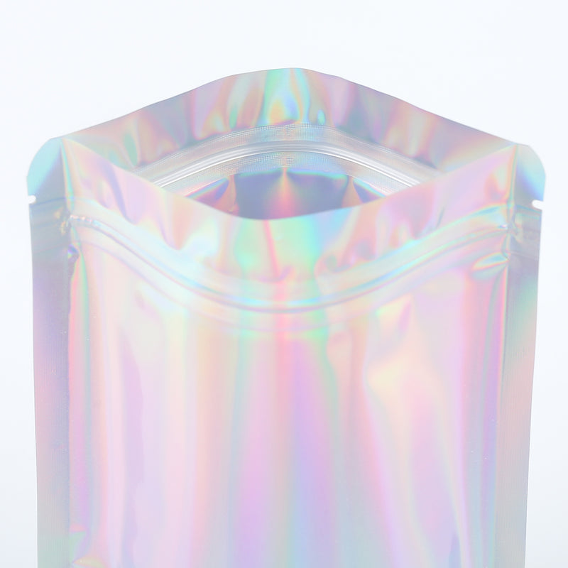QQ Studio® Diamond Holographic Stand Up QuickQlick™ Packaging Bags