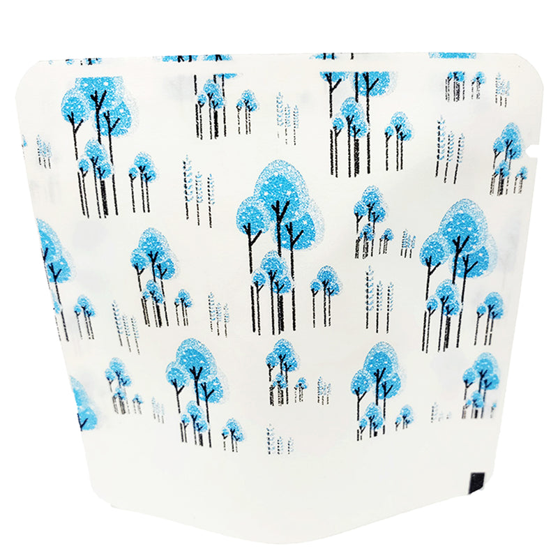 QQ Studio® Double-Sided Paper Tree Design Open Top Bags