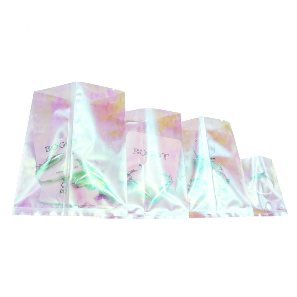 QQ Studio® Kaleidoscope Holographic SlickSeal™ Wrapper Bags