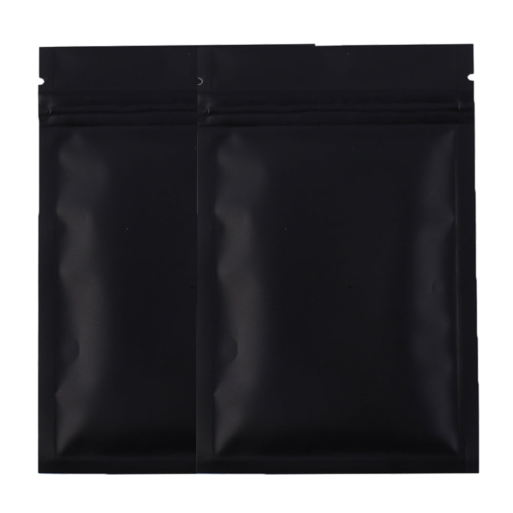 QQ Studio® Foggy Night Black Metallized Mylar Foil Flat QuickQlick™ Bags