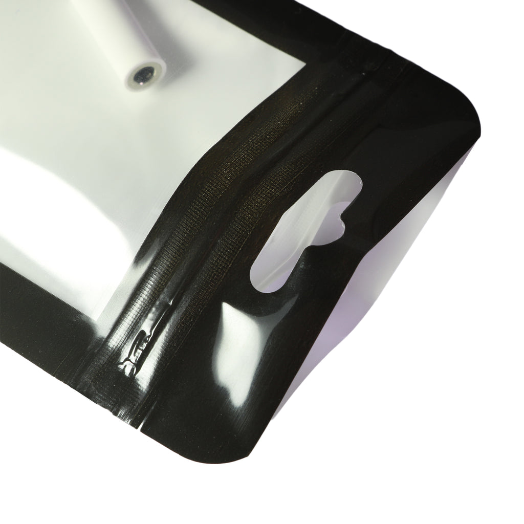 QQ Studio® Mirror Frame Black QuickQlick™ Bags with Rounded Corners and Butterfly Hang Hole